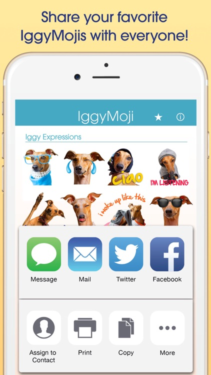 IggyMoji - Italian Greyhound dog emojis, stickers screenshot-3