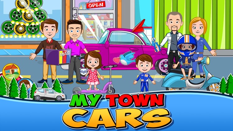 My Town : Car (wash, fix & drive cars)