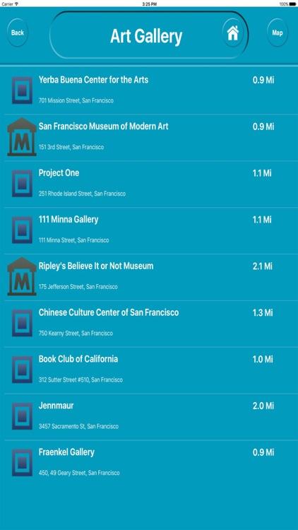 San Francisco CA Offline City Maps with Navigation screenshot-3