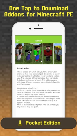 Free Addons - MCPE maps & add ons for Minecraft PE on the App Store