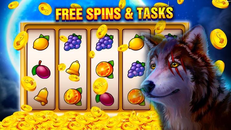 Wolf Rush - Slot Machines screenshot-3