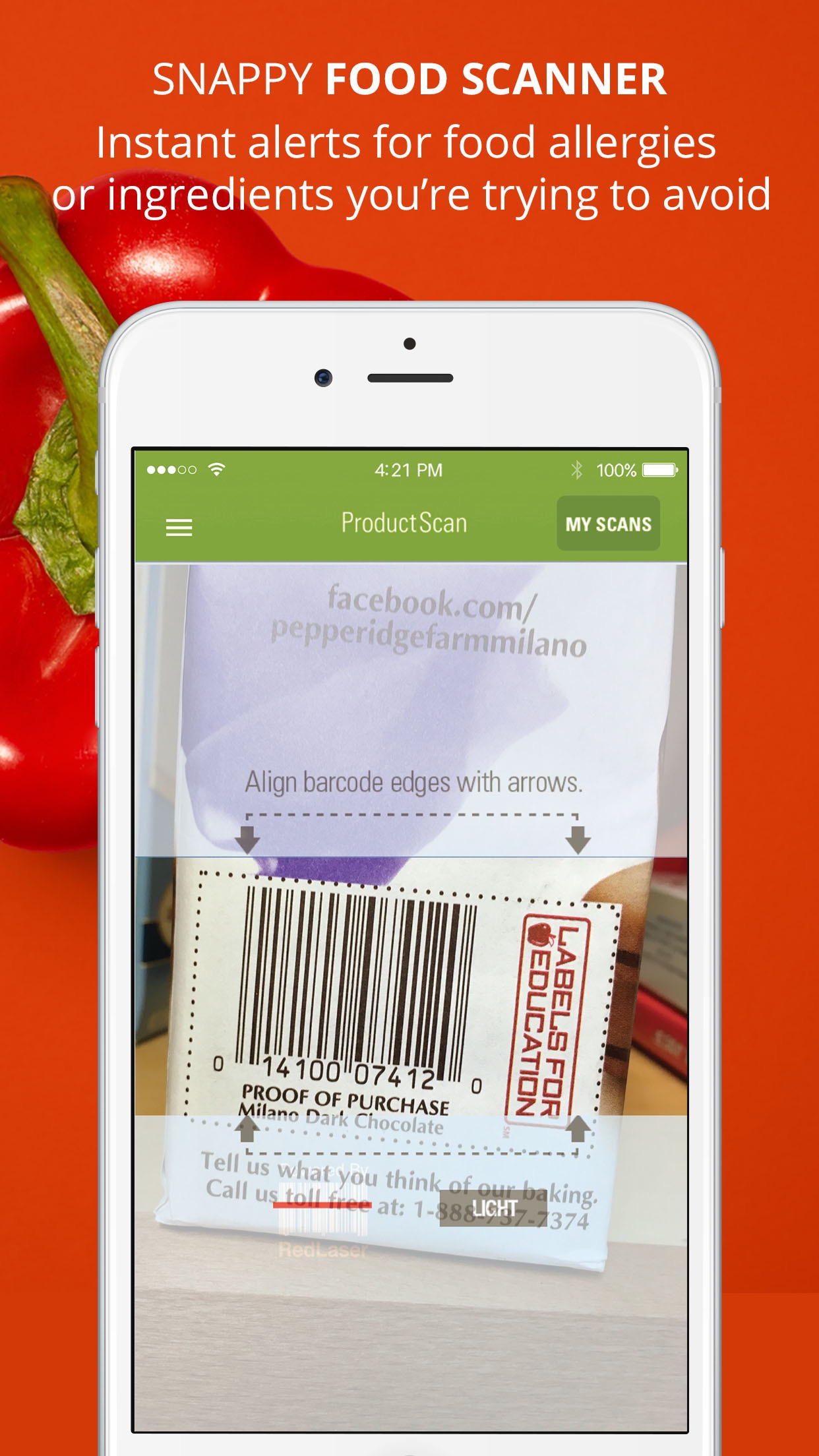 ShopWell - Better Food Choices Screenshot