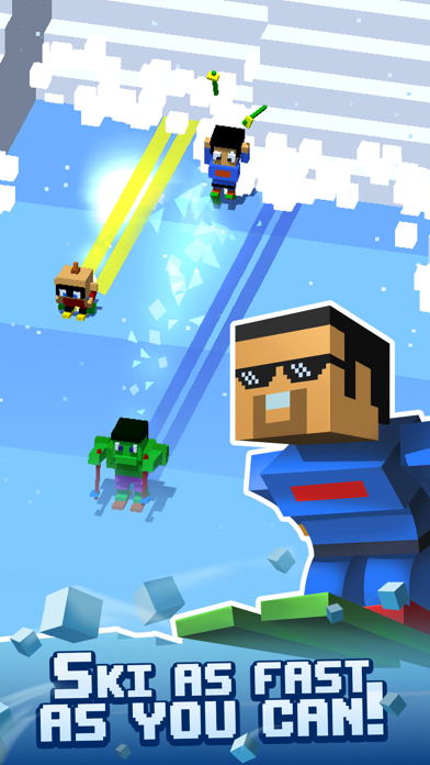 Avalanche Arcade Skiing screenshot 2