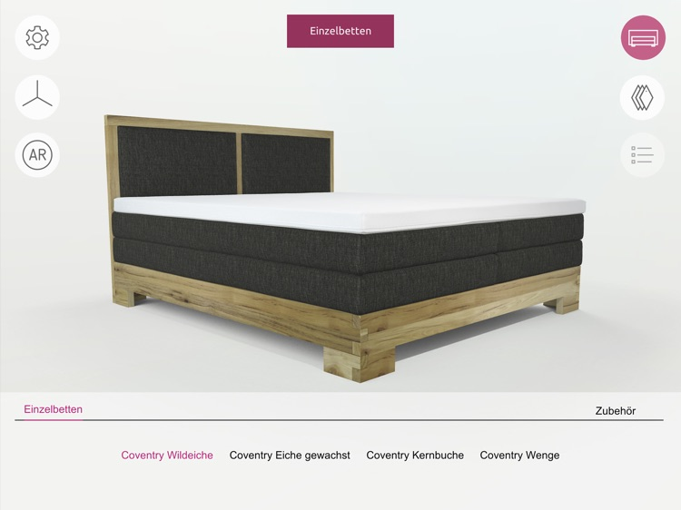 FEY boxspring configurator screenshot-4