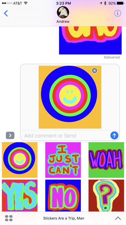 Stickers Are a Trip, Man