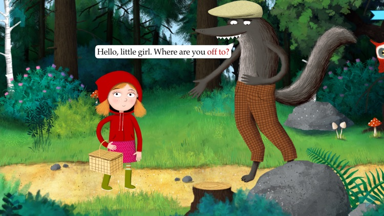 Little Red Riding Hood by Nosy Crow screenshot-0