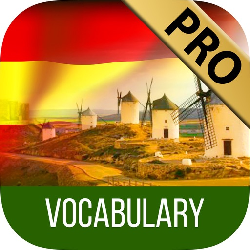 LEARN SPANISH Vocabulary with quiz & games - Pro