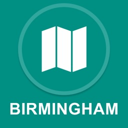 Birmingham, UK : Offline GPS Navigation