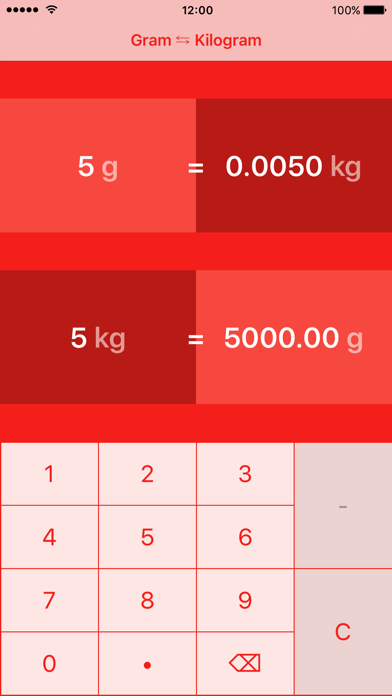Grammes to Kilogrammes | g to kg screenshot two