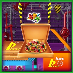 Pizza Factory & Cooking- Crazy Food Maker