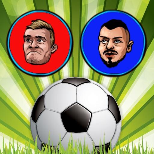 Touch Soccer Futsal Shoot - Two Player Football app logo