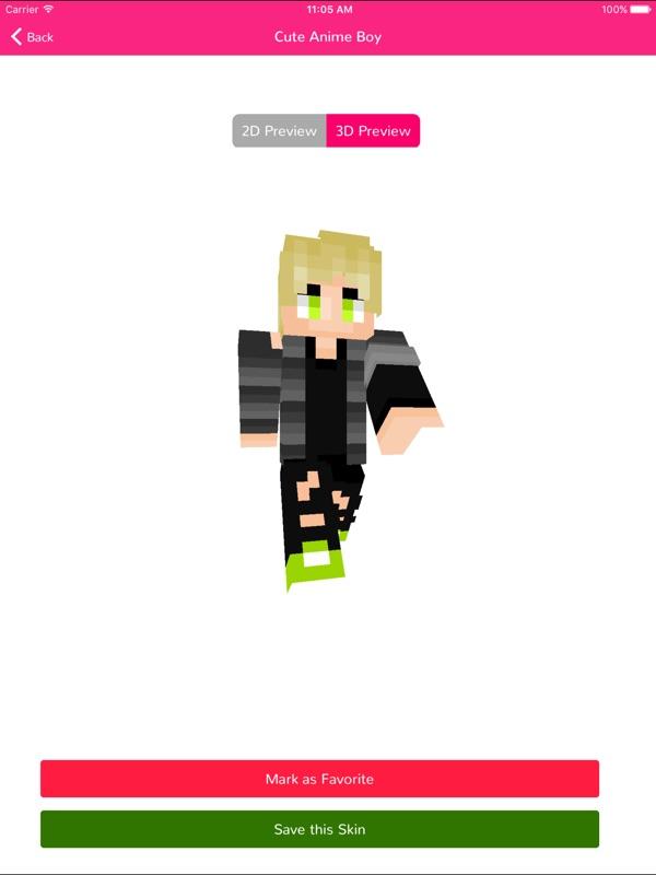 Anime Skins Best Skins For Minecraft PE Online Game Hack And - Skins para minecraft pe de bebe