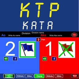 Karate Scoreboard Kata