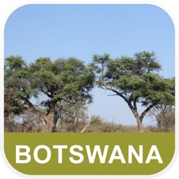 Botswana Offline Map - PLACE STARS