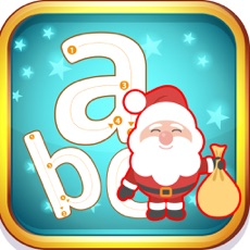 Activities of Santa Claus abc Small Alphabets Tracing Learning