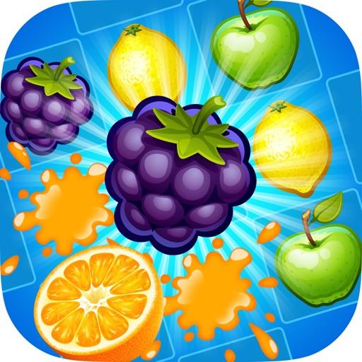 Juice Taste Fever - Garden Drop Puzzle icon