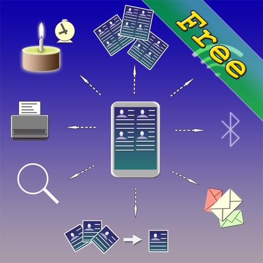 Free Comprehensive Multi Address Book Organizer+