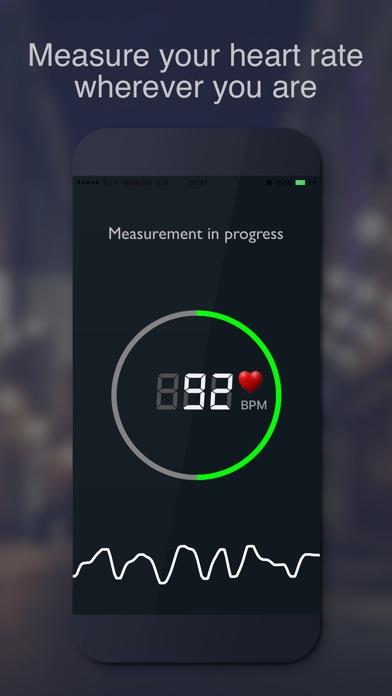 ハートレートモニター screenshot1