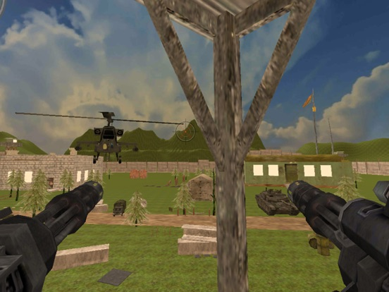 Real Anti-Helicopter Fight with one man army screenshot 6