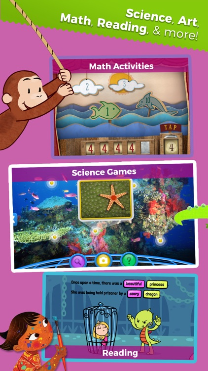 Curious World: Games, Videos, Books for Children app image