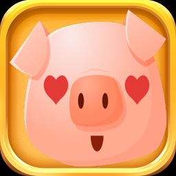 Pig Stickers - Cute Piggy Emojis Set