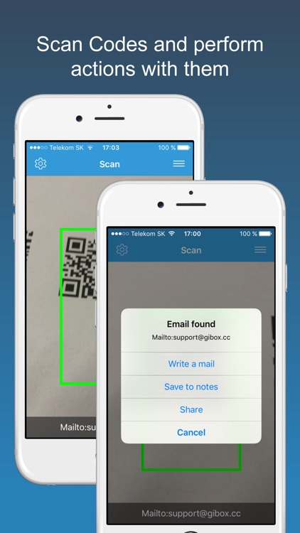 Scan PRO - barcode & qr code reader screenshot-2