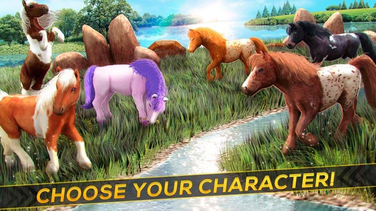 My Pony Horse Riding - The Horses Racing Game