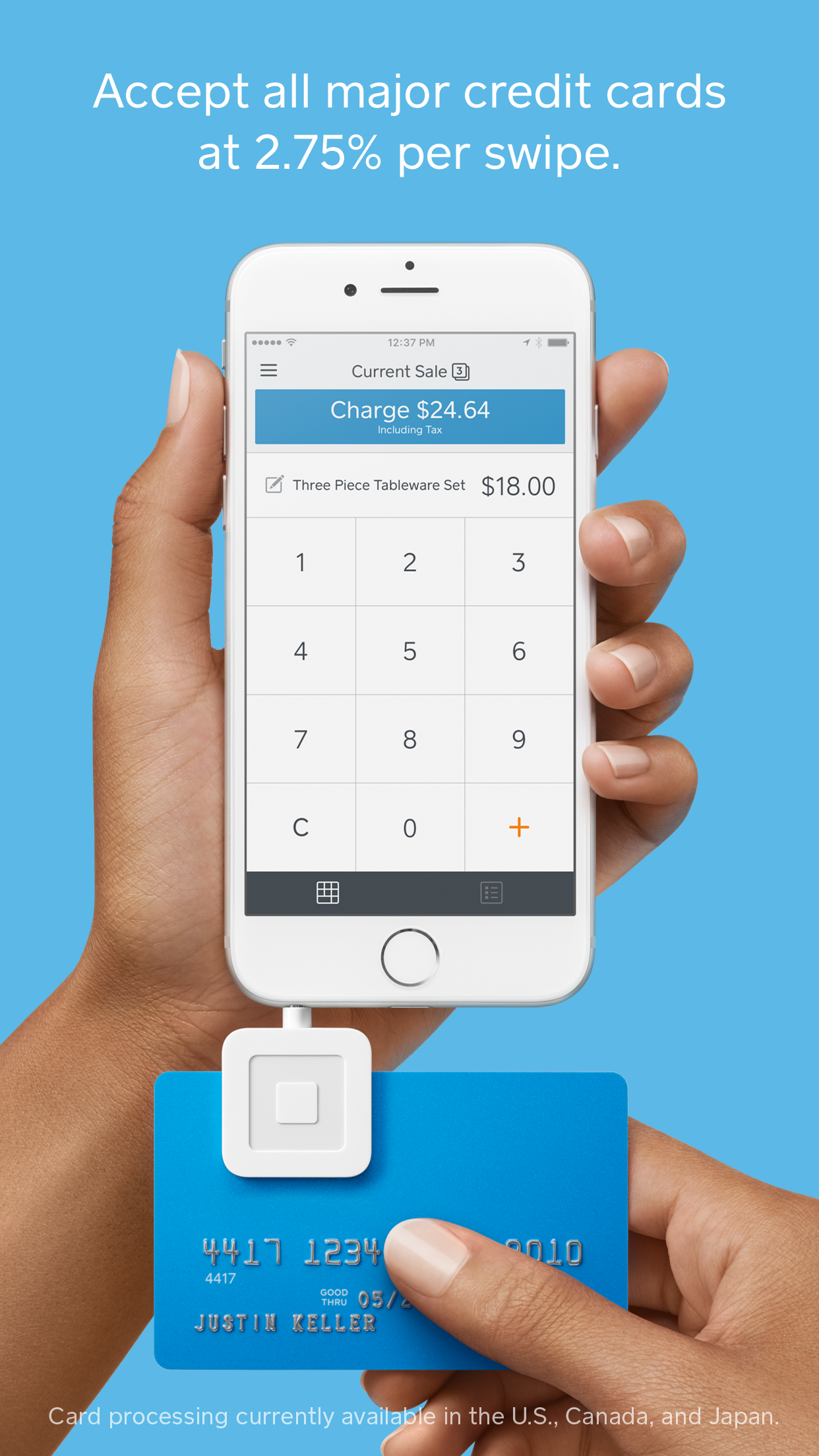 Square Point of Sale (POS) Screenshot