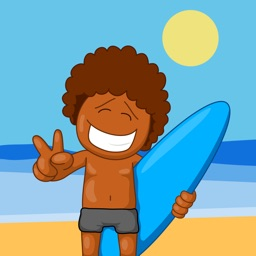I Love Surfing - Sticker Pack for Surfers