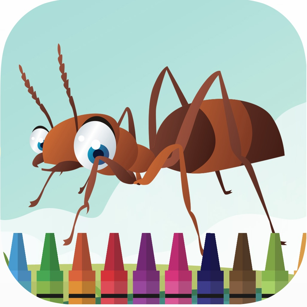 Ant and slither bug coloring book for kids games hack
