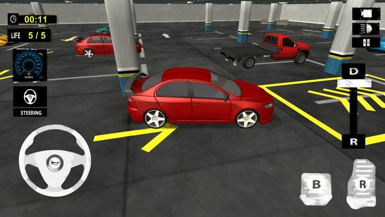 Multi Level Car Parking: Extreme Driving Test Sim screenshot-4