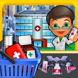 Cash Register Hospital Duty- Supermarket Games