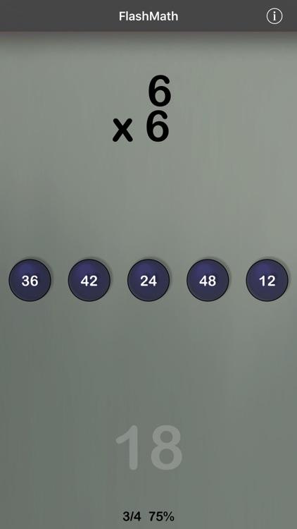 FlashMath (math flash cards)