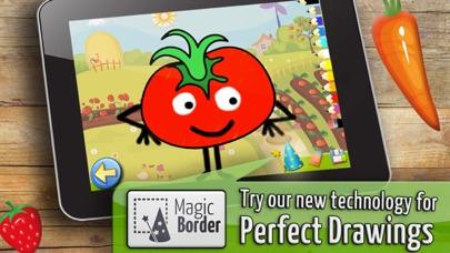 果物や野菜: 子供のためのゲーム 赤ちゃん - 無料 - 教育ののおすすめ画像1