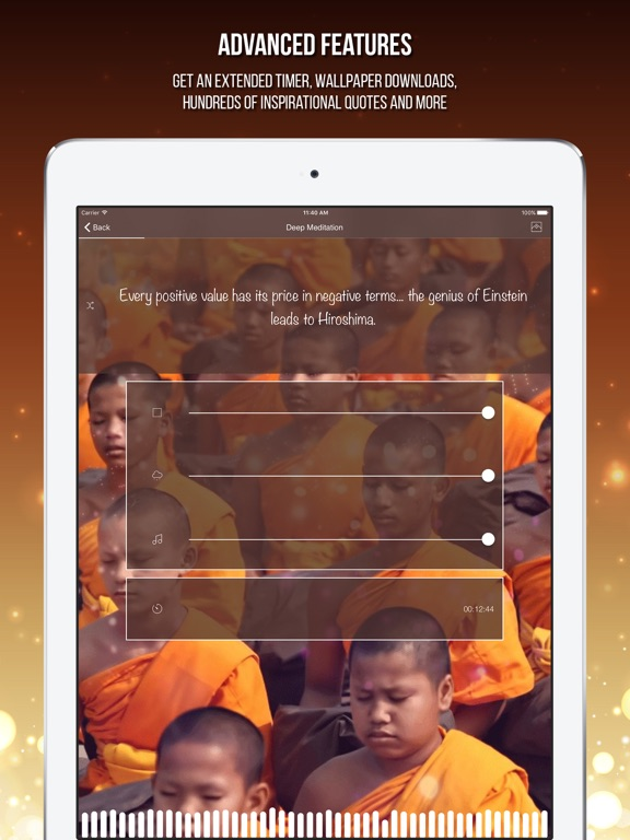 Buddhist Meditation: Om Chanting Music Mindfulness | App