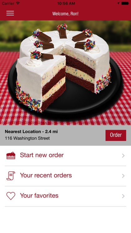 Cold Stone Cakes screenshot-0