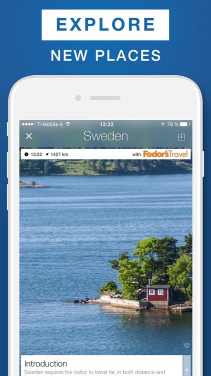 Sweden - Travel Guide & Offline Map