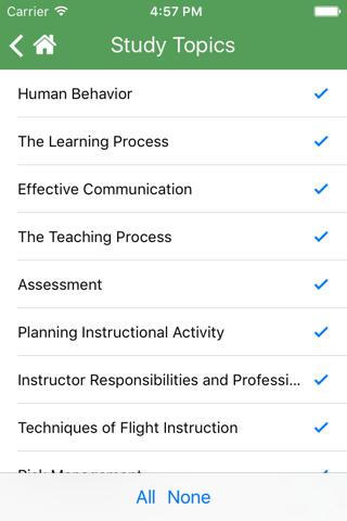2017 FAA Test Prep - Fundamentals of Instructing screenshot 4