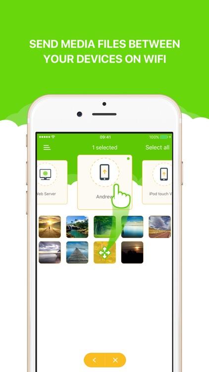 Photo Transfer WiFi - Send Photos and Videos screenshot-0