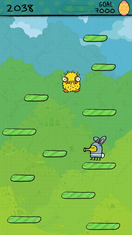 Doodle Jump Easter Special screenshot-0