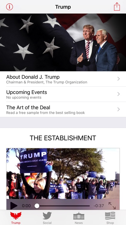 Donald Trump - President of the United States screenshot-1