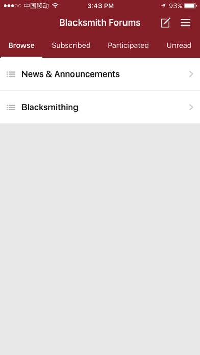 Blacksmith Forums screenshot 1