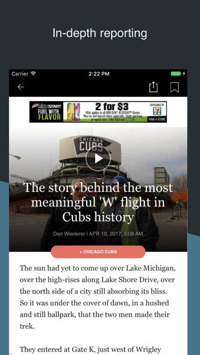 Chicago Tribune app image