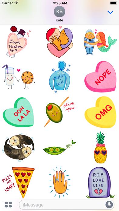 Love by MarcyMoji screenshot three
