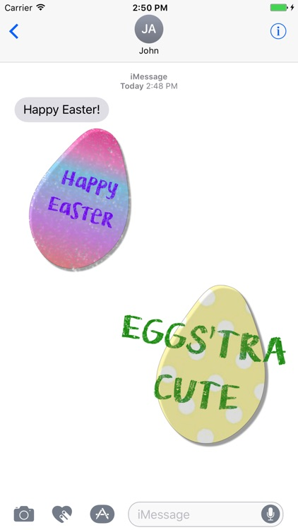 Easter Egg Stickers!