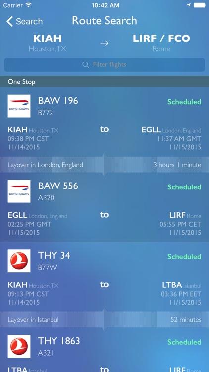 FlightAware Flight Tracker screenshot-4
