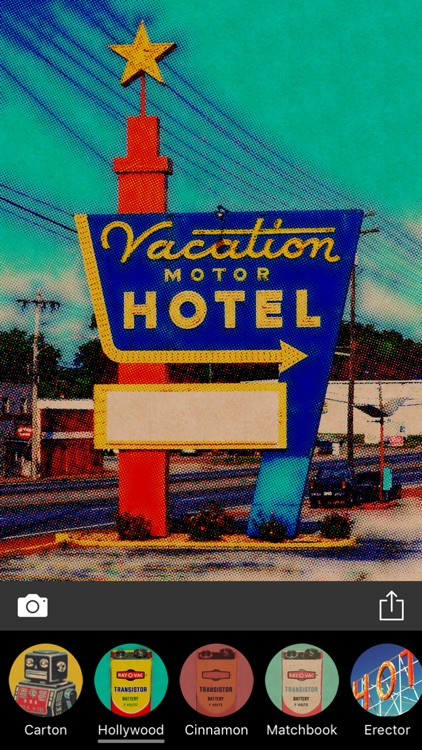 Printed - Vintage Design Photo Filters