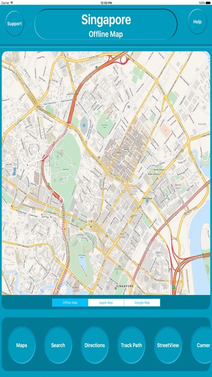 Singapore Offline City Maps Navigation screenshot-0