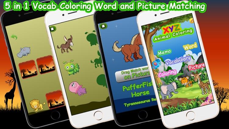 XYZ Animal Coloring Game screenshot-4