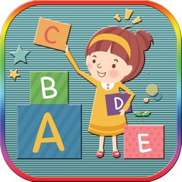 Write letters abc game for toddlers and preschool